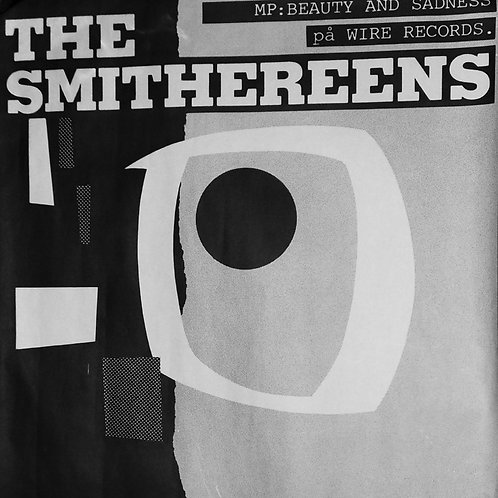 "Original ""Beauty and Sadness"" 1984 Scandanavian Concert Poster"