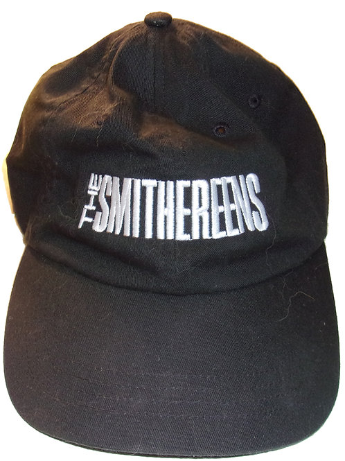 The Smithereens Logo Black Baseball-Style Cap