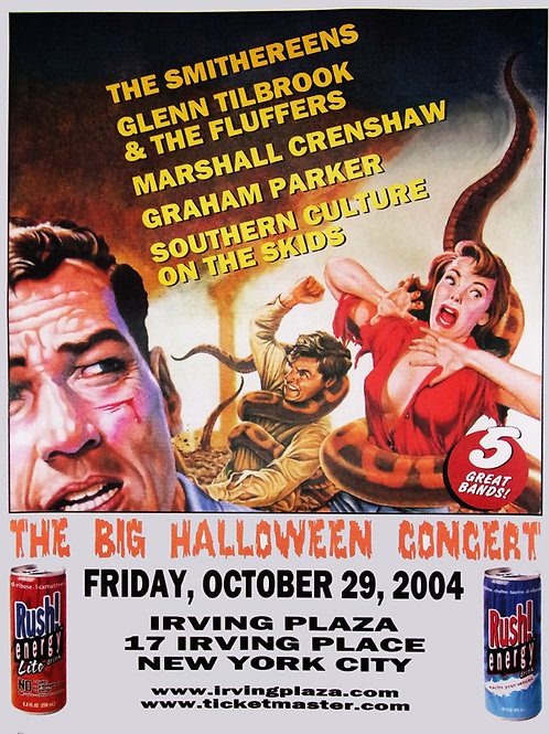 "Original ""Halloween Concert"" 2004 Large Poster"