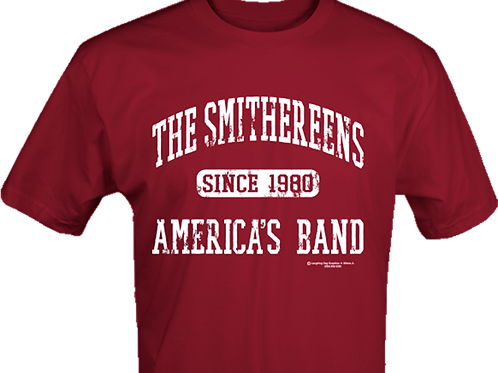 Cardinal Red The Smithereens America's Band T-Shirt