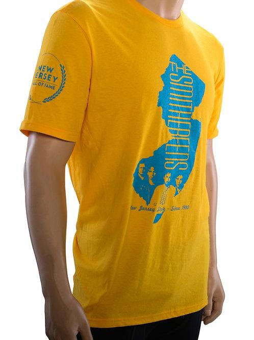 """Gold & Blue """"New Jersey Style HOF"""" T-Shirt"""