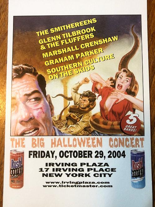 POSTCARD- Irving Plaza, NYC Halloween, October 29, 2004