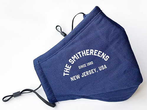 The Smithereens Deluxe Blue Face Mask