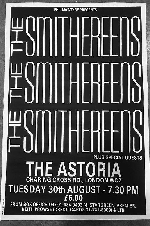 """Vintage """"London Astoria"""" 1988 Concert Poster"""