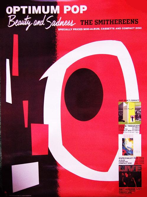 """Original """"Beauty and Sadness"""" Optimum Pop 1988 Poster"""