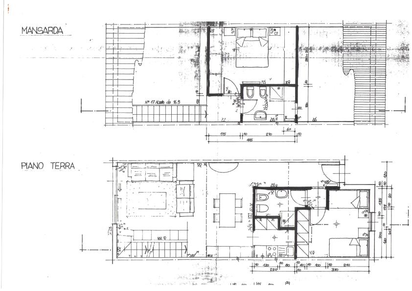 ground floor + top bedroom