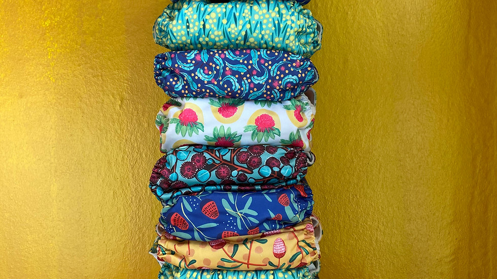 12 Pack Cloth Diapers