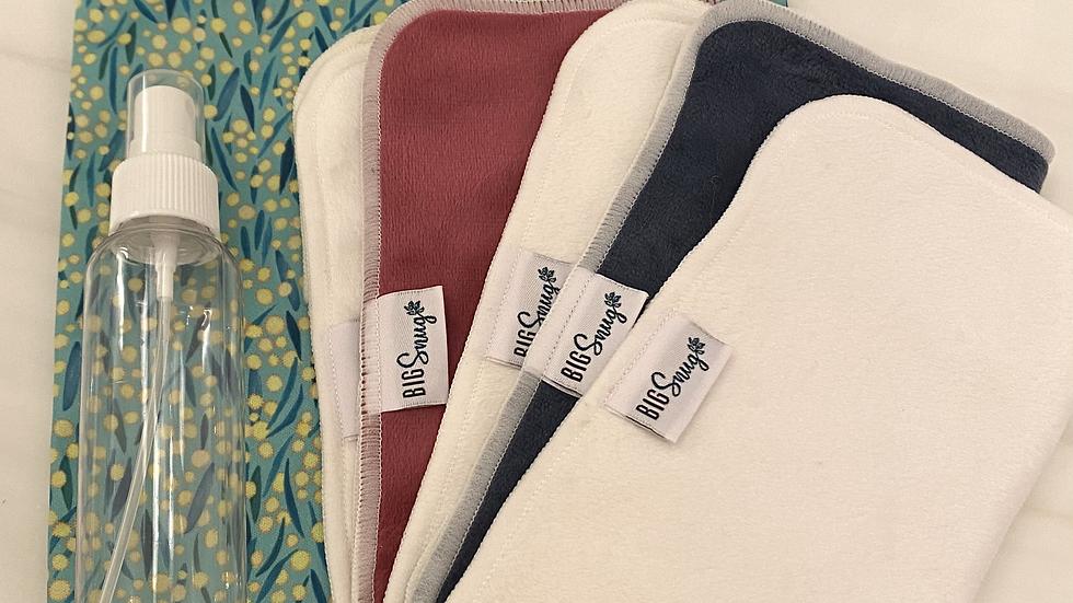 Travel Cloth Wipes set