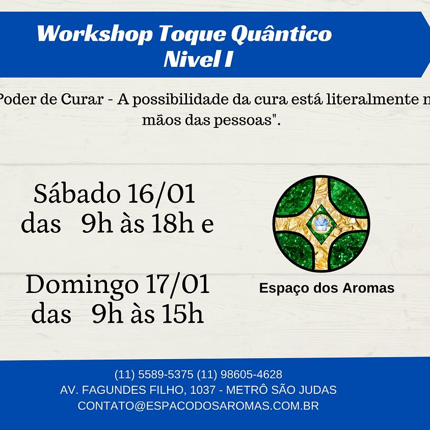 WORKSHOP QUANTUM-TOUCH®/ TOQUE QUÂNTICO NÍVEL I