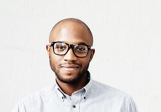 Man with Black Frame Glasses