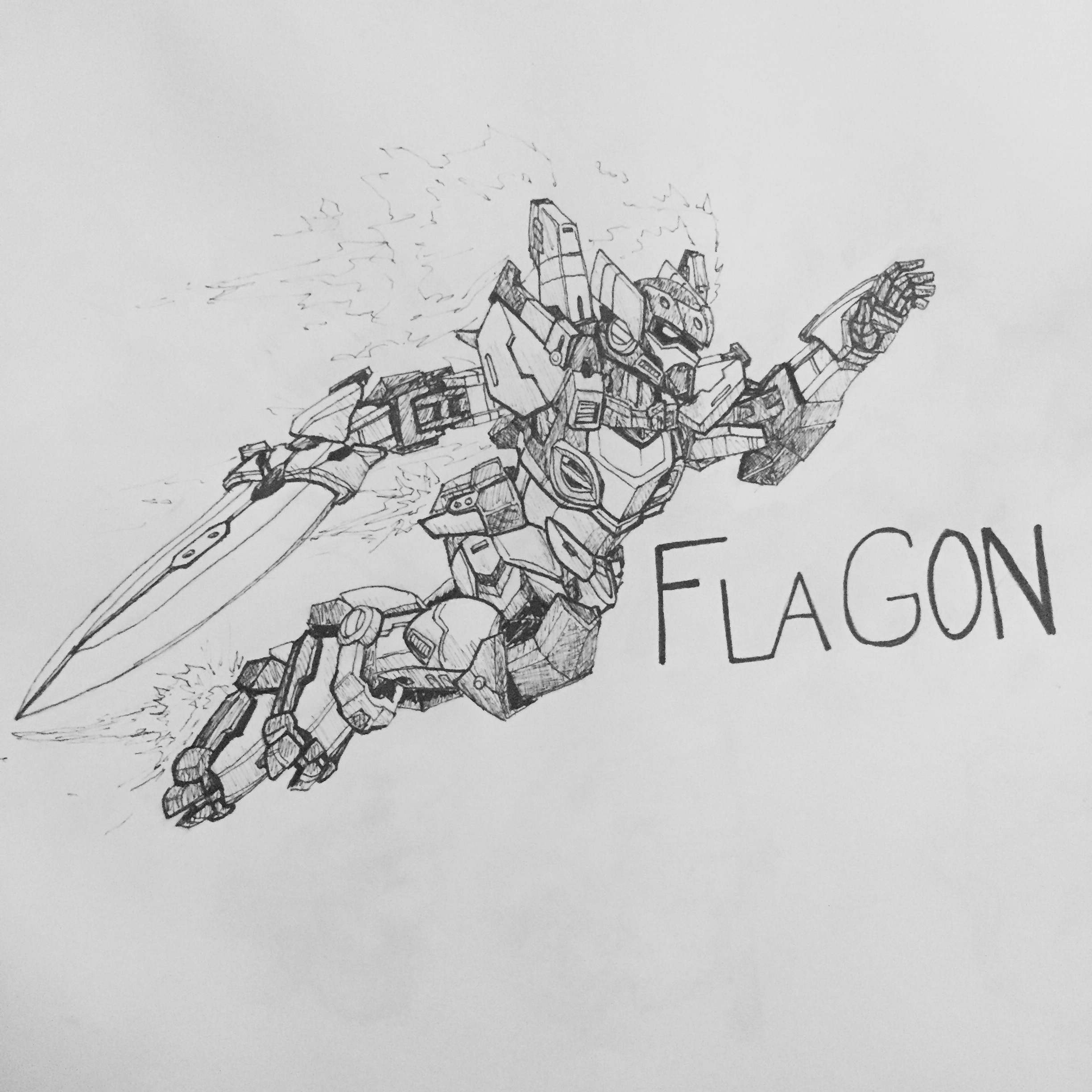 Inktober Day 6: Flagon