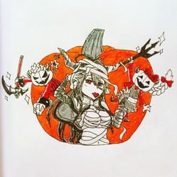 Inktober Day 23: Halloween Danua