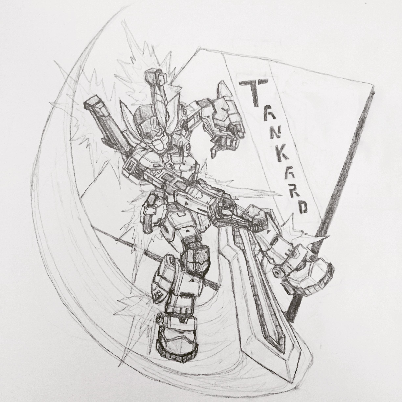 Tankard Slashing Doodle