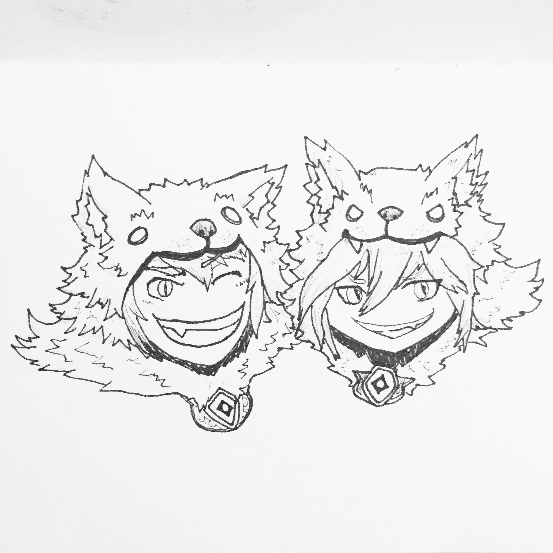 Inktober Day 11: Kiso Kai Ni Fantasy