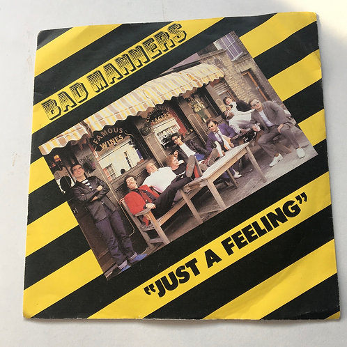 Bad manners - Just a Feeling / Suicide single