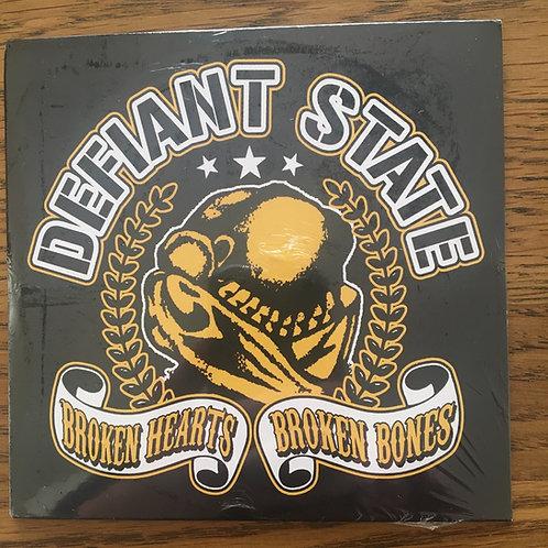 Defiant State - Broken Hearts Broken Bones CD