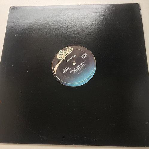 Clash U. S import This is radio Clash 12 in EP