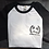 Thumbnail: White/Black Baseball T-shirt Spirit of DIY