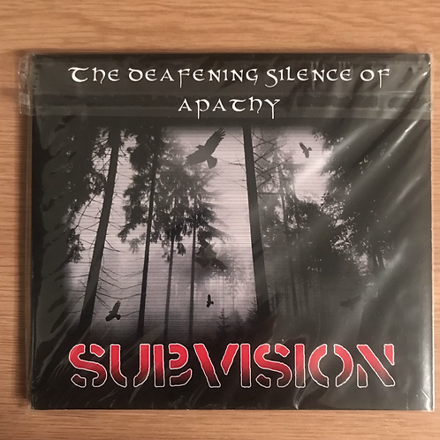 Subvision - The Deafening Silence Of Apathy CD