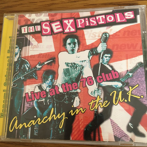 Sex Pistols - Live at the 76 club CD