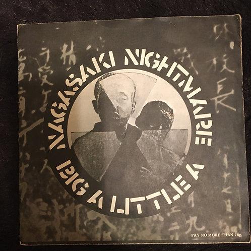 Crass - Nagasaki Nightmare / Big A Little A VINYL