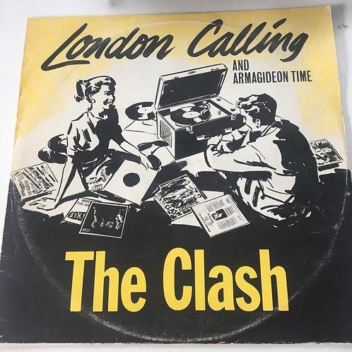The Clash - London Calling / Armagideon Time 12 inch EP