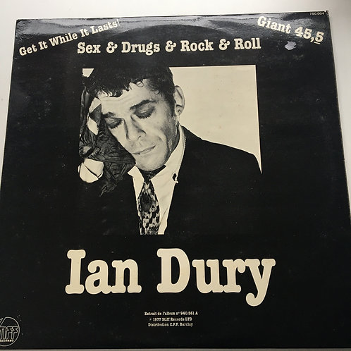 Ian Dury -Sex and Drugs and Rock and Roll 12inch Ep
