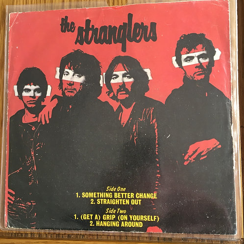The Stranglers -  7inch pink vinyl Something Better Change / Straighten Out etc