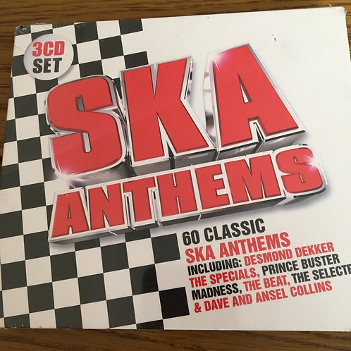 Ska Anthems - 60 classic Ska Anthems 3 CD box set