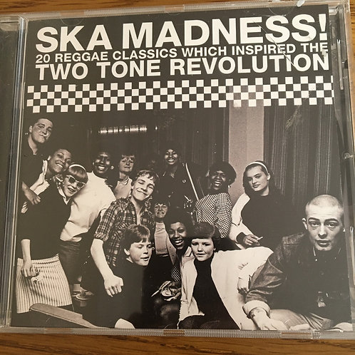 Ska Madness 20 Reggae Classics - Two Tone Revolution