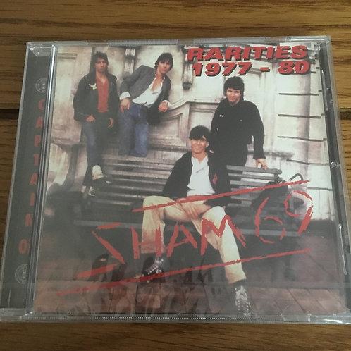Sham 69 Rarities 1977-80 CD