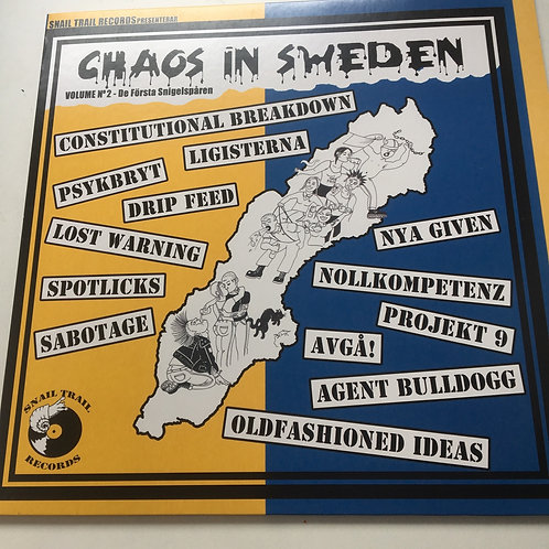 Chaos in Sweden compilation album