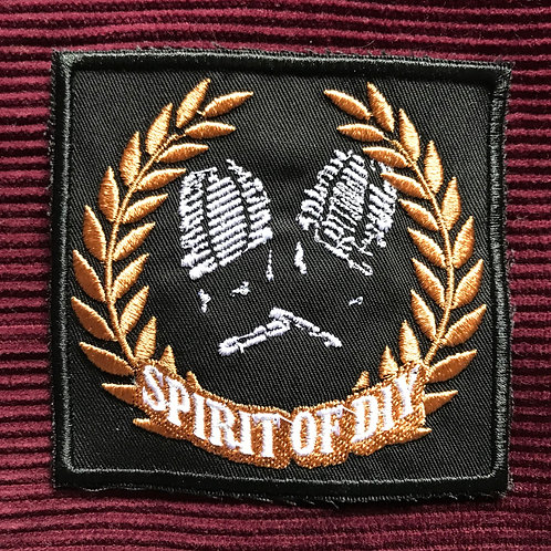 Spirit of DIY Embroidered PATCH (Gold)