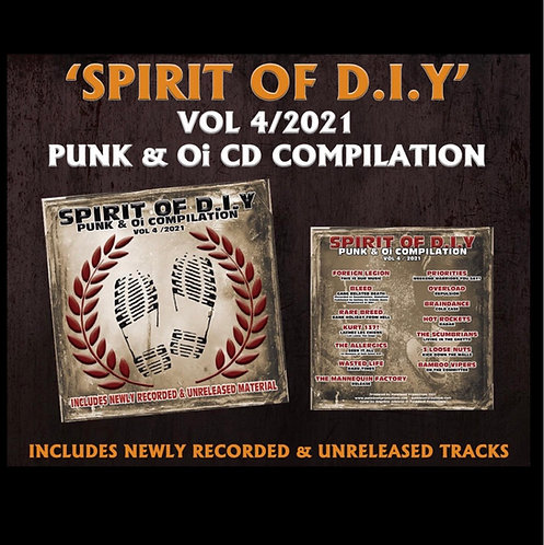 Spirit of DIY Vol 4 CD