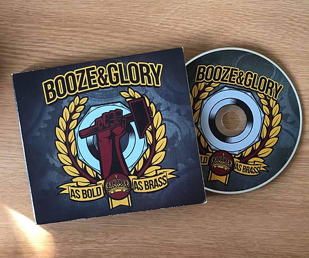 Booze and Glory - As Bold as Brass Cd