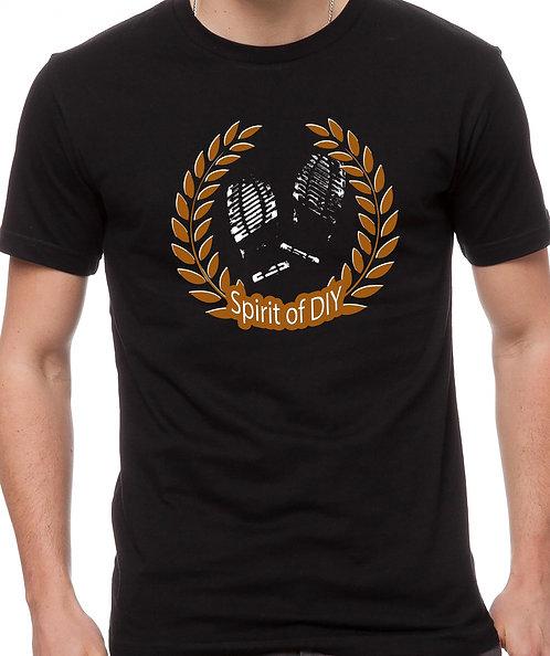 Spirit of DIY T-Shirt BLACK