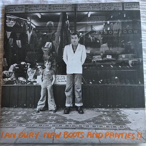 Ian Dury - New Boots and Panties Double Album coloured vinyl