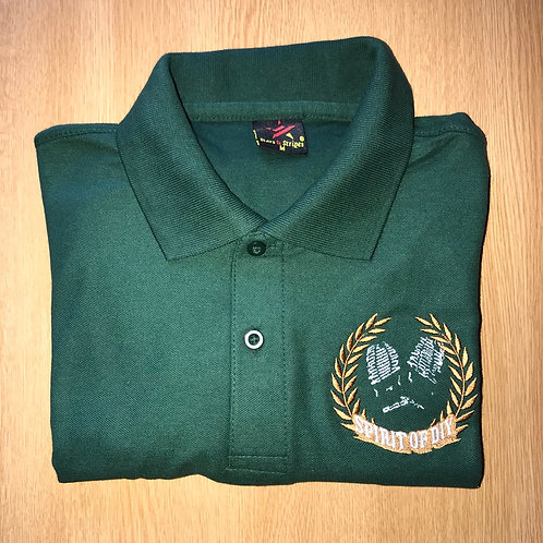 Spirit of DIY Polo Shirt Green
