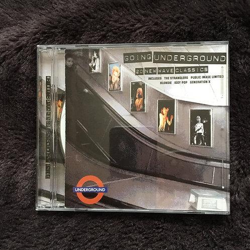 Going underground - 20 New Wave Compilation CD