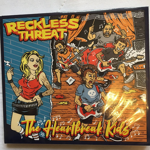 Reckless Threat - The Heartbreak Kids Cd