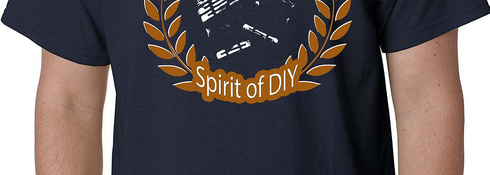Spirit of DIY T-Shirt NAVY BLUE