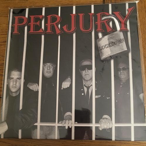 Perjury - Lockdown LP in Red VINYL