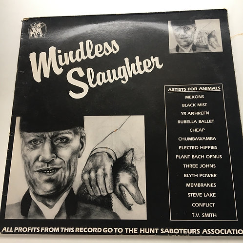 Mindless Slaughter - Artists for Animals