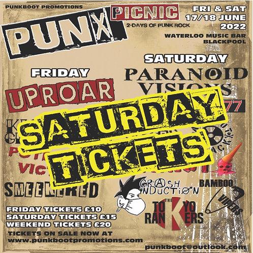PUNX PICNIC TICKET Saturday 18 June 2022 BLACKPOOL