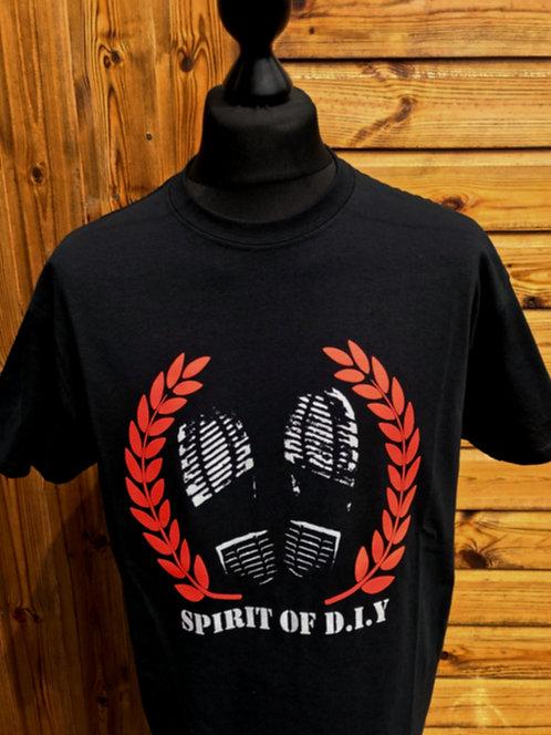 Spirit Of DIY T-shirt's BLACK