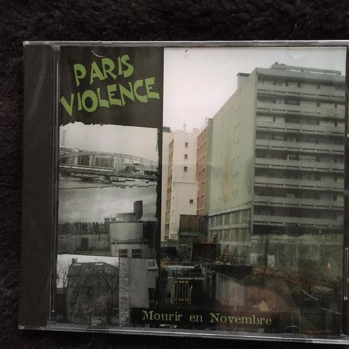 Paris Violence - Mourir en Novembre CD