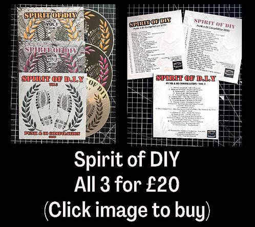 Spirit of DIY - All 3 for £20