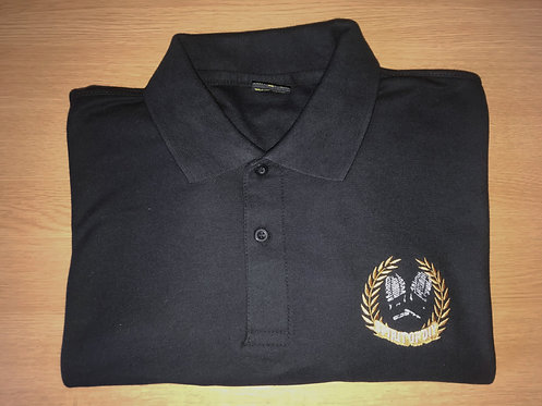 Spirit Of DIY Polo Shirt BLACK