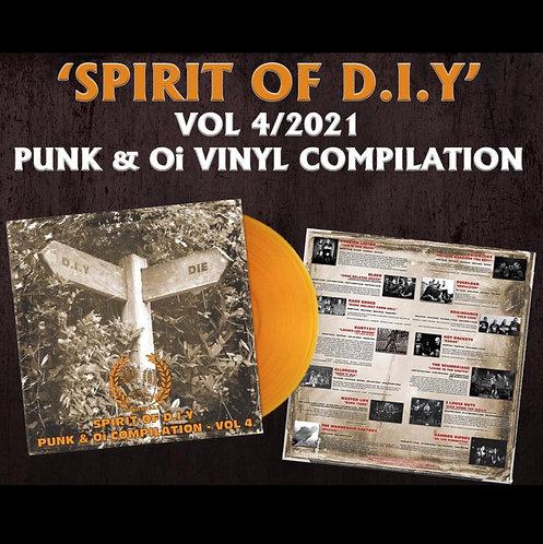 Spirit of DIY Vol 4 Orange VINYL