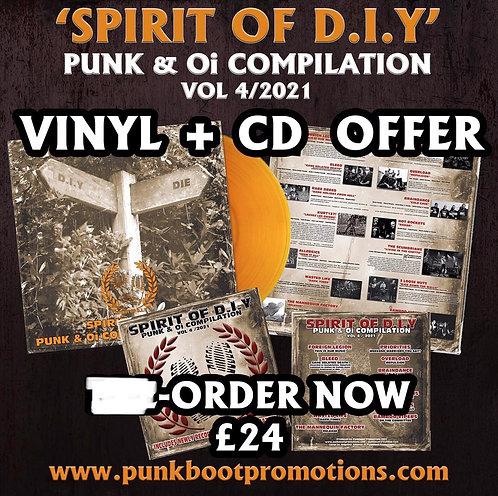 Spirit of DIY Vol 4 CD + VINYL OFFER